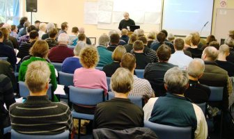 Students at a bible school in New Zealand.