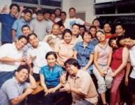 Students at a bible seminary in the Far East.