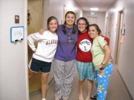 Students at a bible college in the USA.